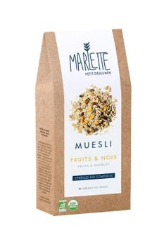 MUESLI FRUITS & NOIX - MARLETTE