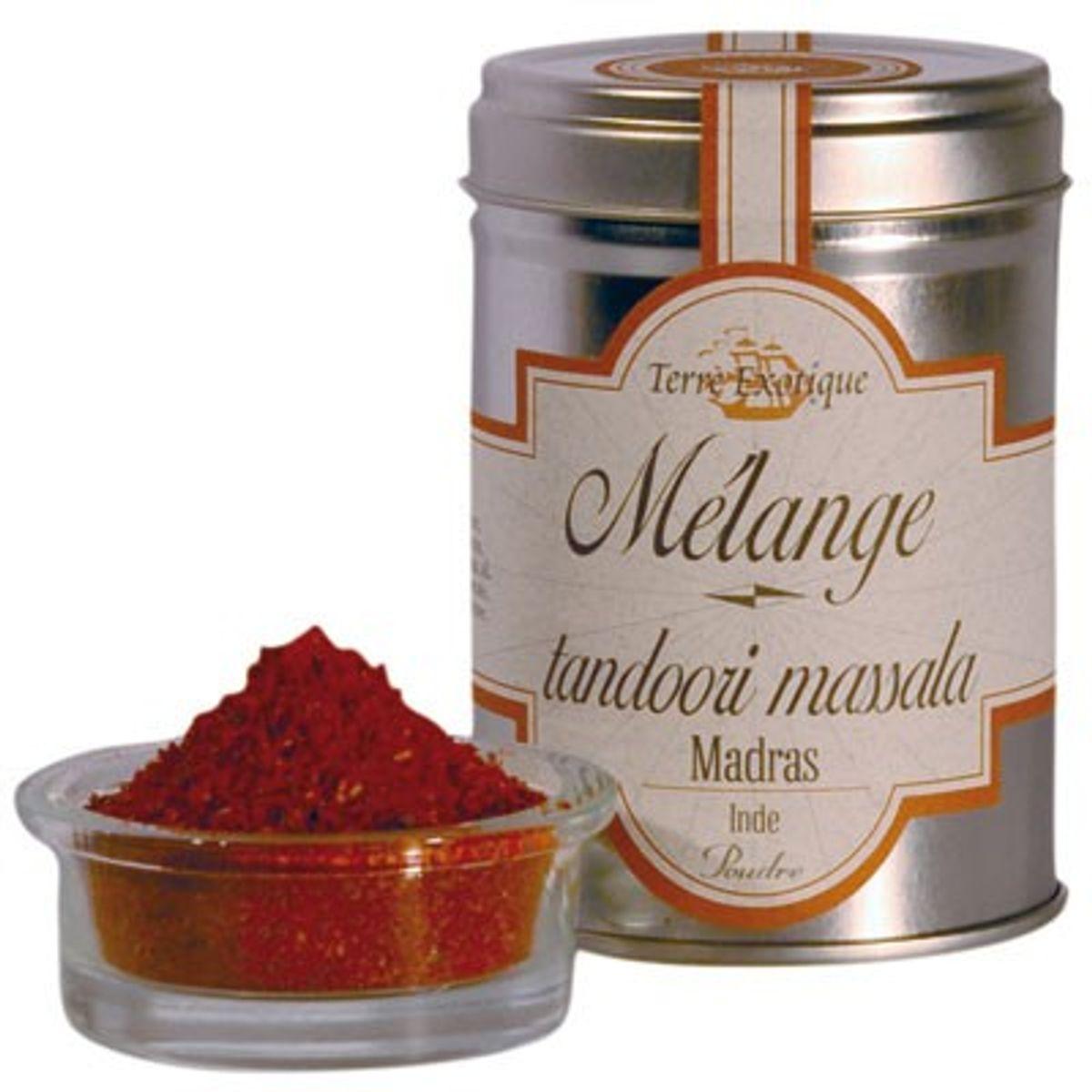 Mélange tandoori - Terre Exotique