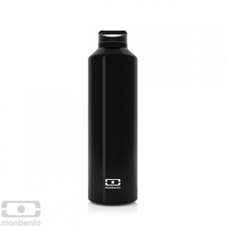 Bouteille isotherme MB Steel noir Onyx - Monbento