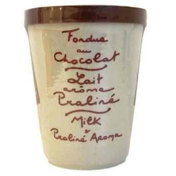 Fondue choco lait et praliné - Aux Anysetiers du Roy