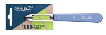 COUTEAU EPLUCHEUR N°115 - COULEUR BLEU - OPINEL