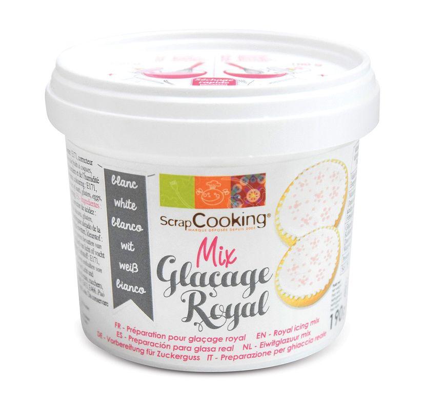 GLACAGE ROYAL BLANC 190G - SCRAPCOOKING