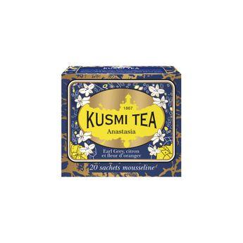 THÉ ANASTASIA - 20 SACHETS MOUSSELINE 44G - KUSMI TEA