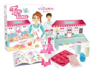 COFFRET TEA TIME - SCRAPCOOKING