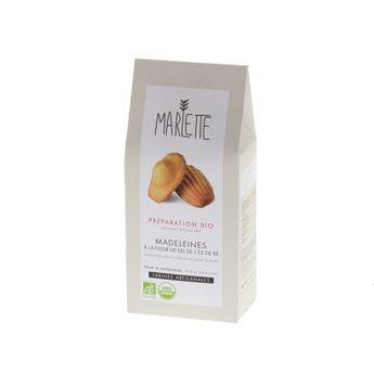 Achat en ligne Préparation bio pour madeleines 300gr - Marlette