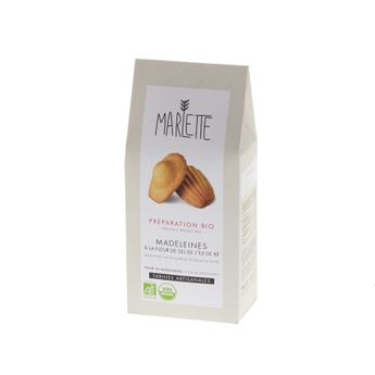 Préparation pour madeleines bio 300gr - Marlette