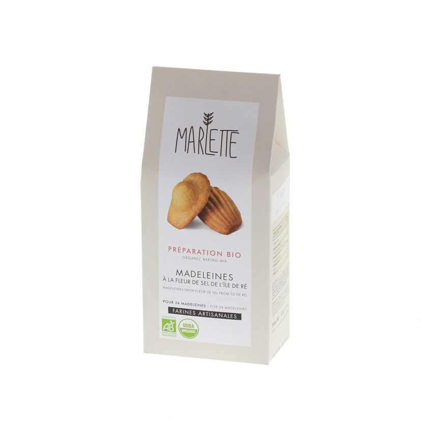 Préparation bio pour madeleines 300gr - Marlette