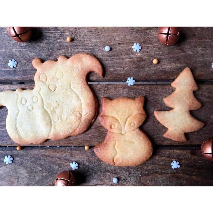 Emporte-pièce inox renard 7cm - Birkmann