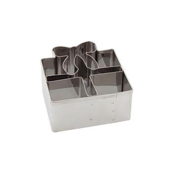 Achat en ligne Emporte pièce inox cadeau 6.5 cm - Birkmann