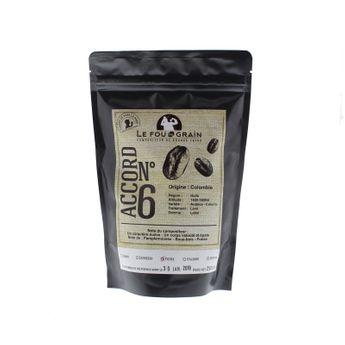 CAFE DECA COLOMBIE ACCORD N°15 250GR - LE FOU DU GRAIN