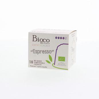 10 CAPSULES ESPRESSO - BIOCO