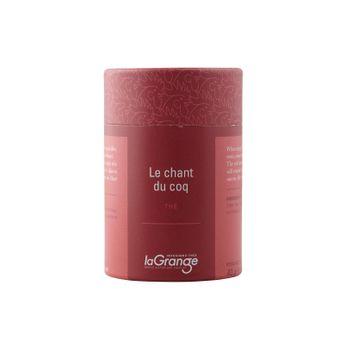 Boîte thé vert Le chant du coq vrac 40gr - Lagrange