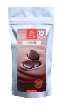 PISTOLES DE CHOCOLAT DE COUVERTURE LAIT 250G - ALICE DELICE
