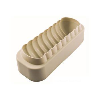 Achat en ligne Moule en silicone bûche Meringue 25 cm - Silikomart