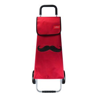 Sac pour chariot moustache 60 litres - Les Artistes