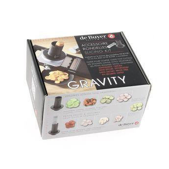 Achat en ligne Accessoire rondelles pour mandoline Gravity - De Buyer