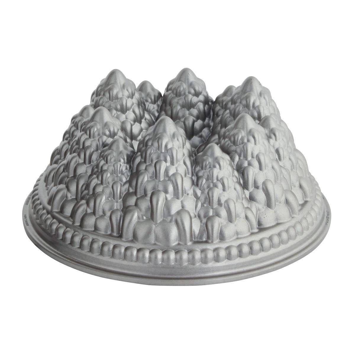 Moule forêt de sapins enneigés en fonte d´aluminium 25 cm - Nordic Ware