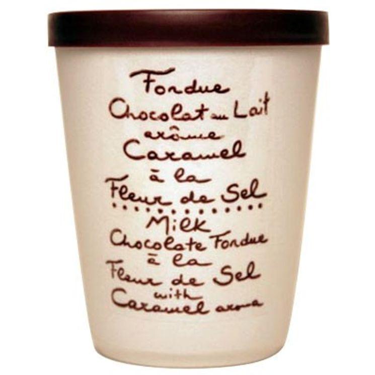Fondue lait caramel fleur sel - Aux Anysetiers du Roy