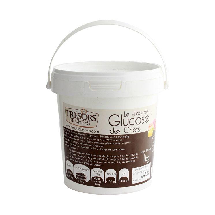 Sirop de glucose 1kg/1000ml - Trésors de Chefs