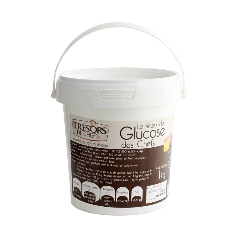 Sirop de glucose 1kg - Trésors de Chefs
