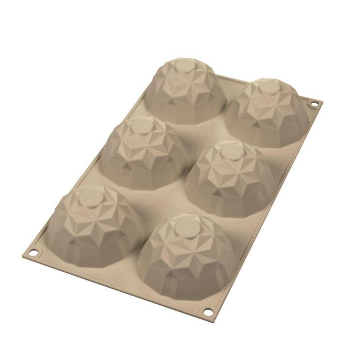 Moule silicone 3D mini-gemma - Silikomart