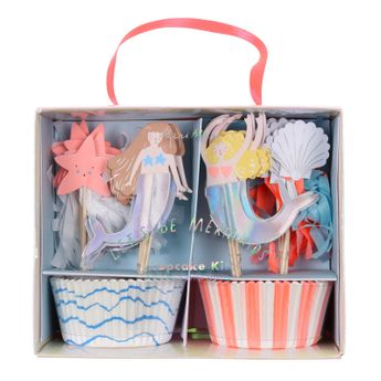 "KIT CUPCAKES ""LET´S BE MERMAIDS"" - MERI MERI"