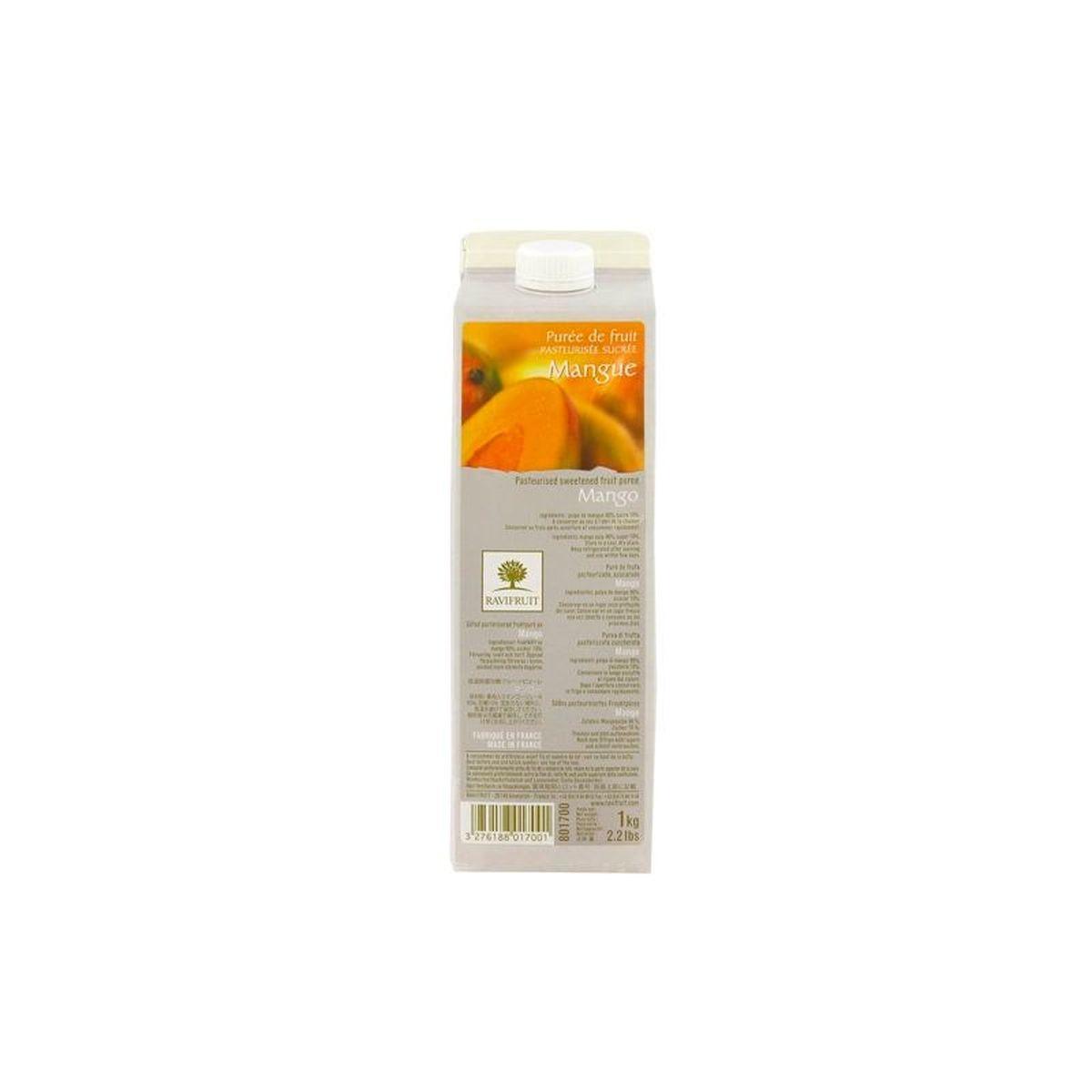 Purée de mangue 1000ml - Ravifruit