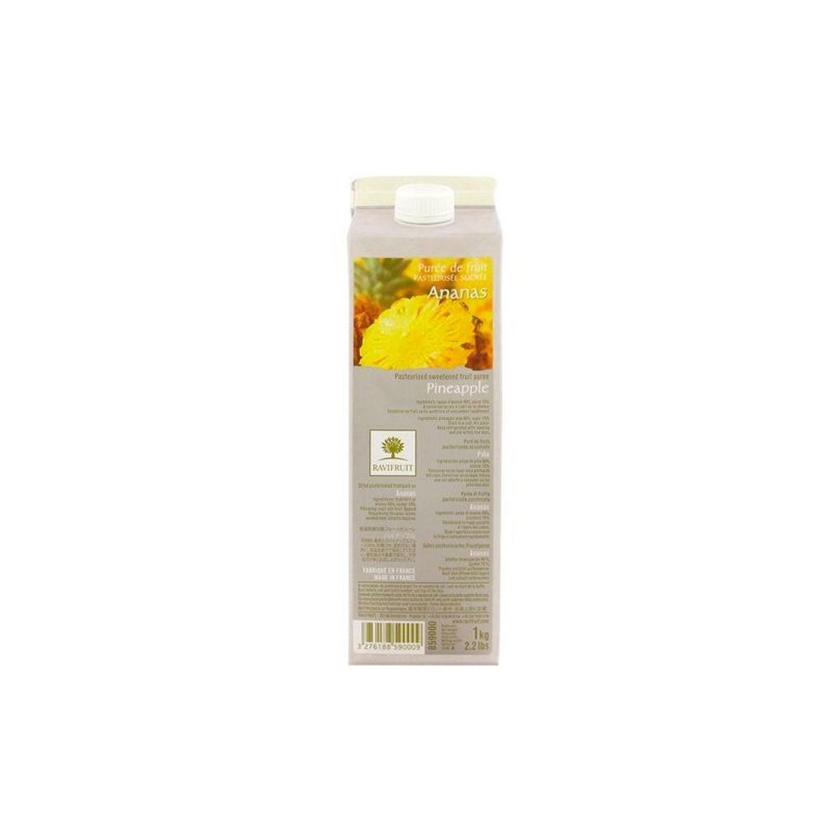PUREE D´ANANAS 1000ML - RAVIFRUIT