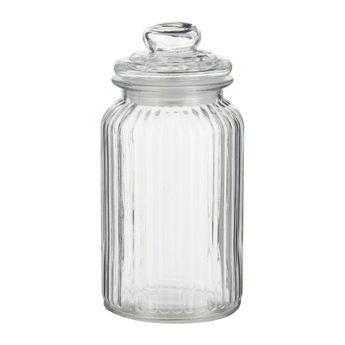 Bonbonnière en verre nostalgie 1,2L - Zeller
