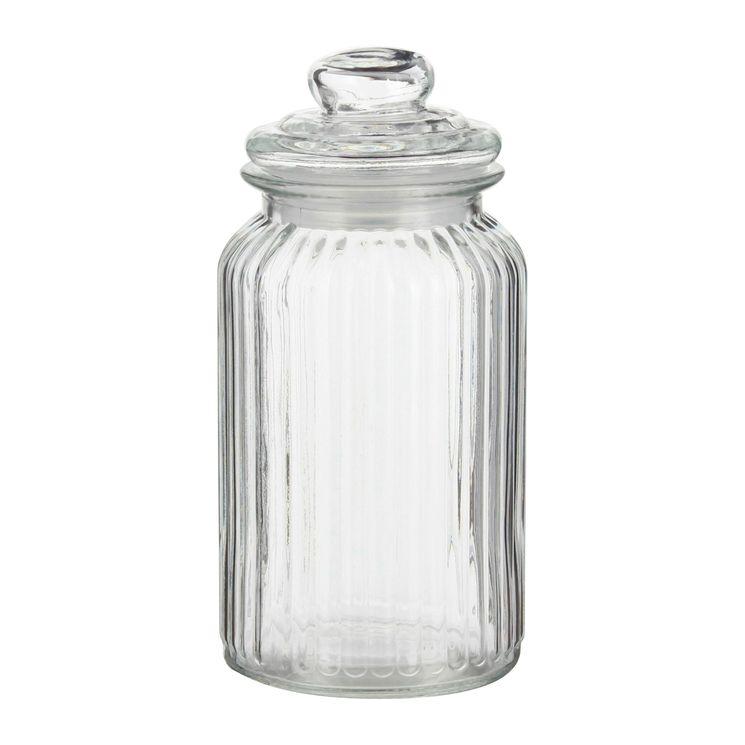 Bonbonnière en verre nostalgie 1.2L - Zeller
