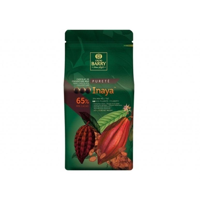 Chocolat de couverture noir pureté Inaya 1kg - Barry