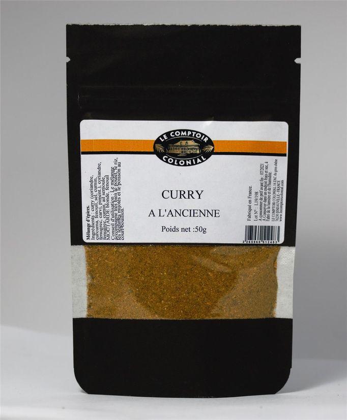 Curry à l´ancienne en poudre 50gr - Le Comptoir Colonial