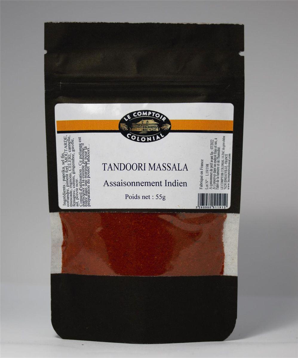 Tandoori masala sachet 55gr - Le comptoir colonial