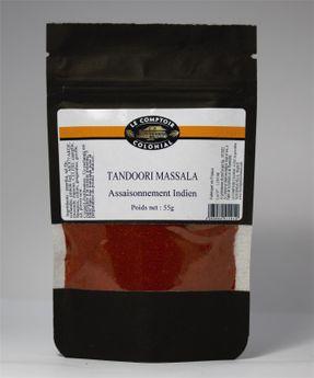 Achat en ligne Tandoori Massala en poudre 55gr - Le Comptoir Colonial