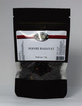Achat en ligne Poivre noir Rasavat 55gr - Le Comptoir Colonial