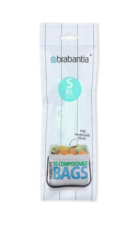 10 sacs-poubelle 6l - Brabantia
