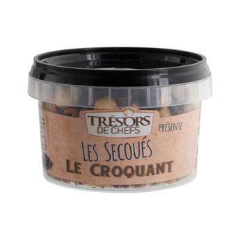 LES SECOUES MELANGE CROQUANT 150G - TRESORS DE CHEFS