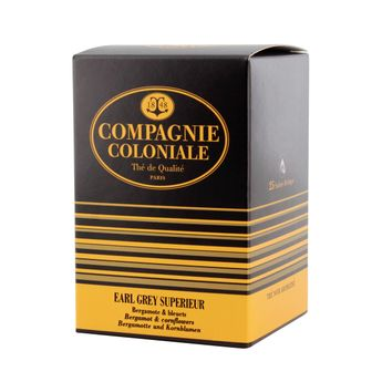 THE NOIR AROMATISE 25 BERLINGO EARL GREY SUP - COMPAGNIE COLONIALE
