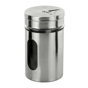 Pot de conservation en inox pour épices 80 ml - Zeller