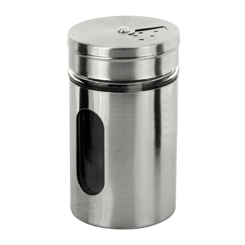 Pot à épices inox 5 x 8.5 cm - Zeller