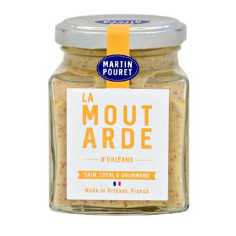 MOUTARDE D´ORLEANS TRADITION  200G - MARTIN POURET