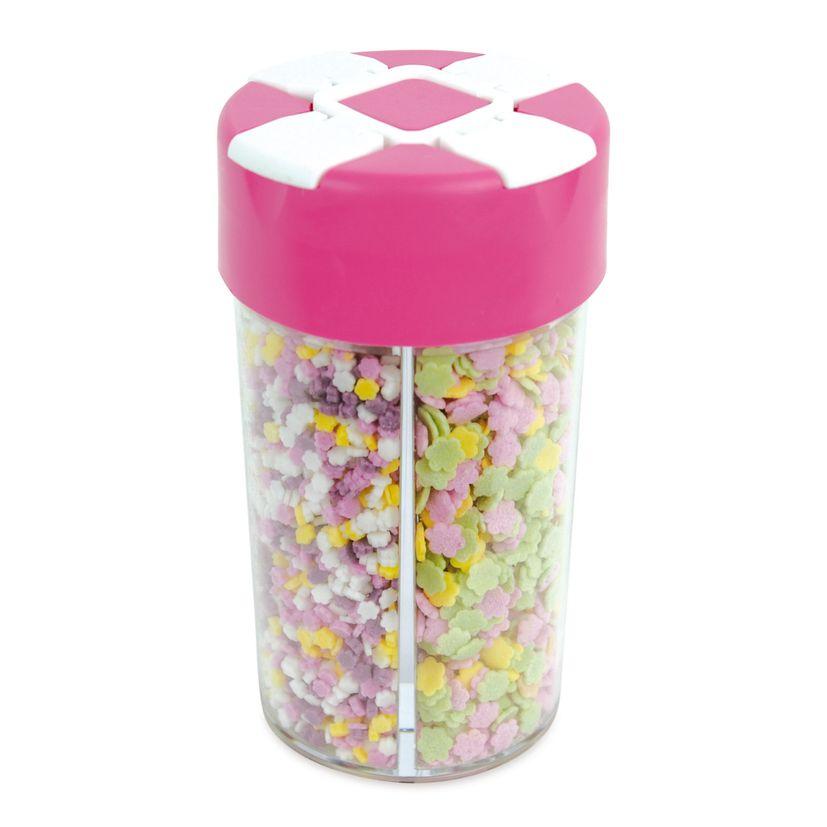 Boîte distributrice décors sucres carnaval - Scrapcooking