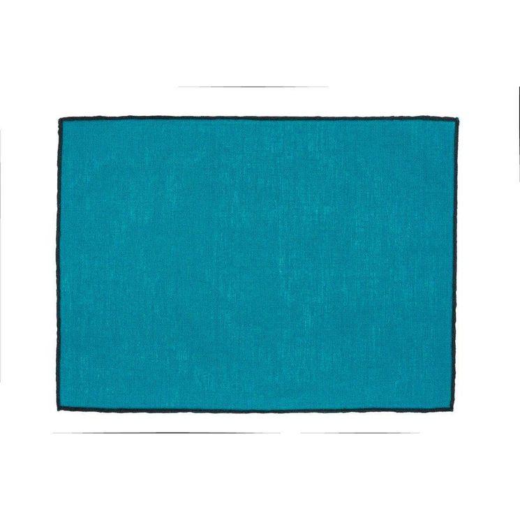 Set de table Borgo 35x48 crépuscule 100% lin enduit Harmony
