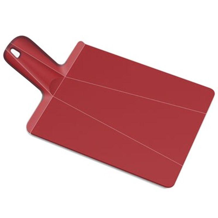 Mini-planche à découper Chop2pot rouge - Joseph Joseph