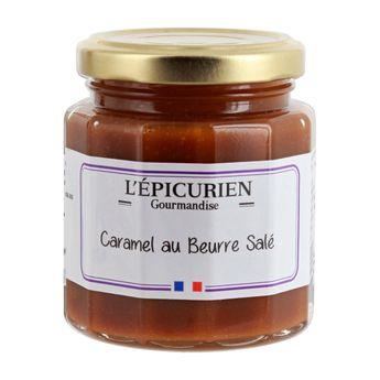 Achat en ligne Pâte à tartiner caramel au beurre salé 215 g - L´Epicurien