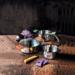 Sauteuse amovible Mutine inox 28cm - Cristel