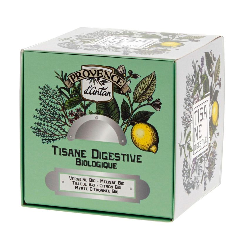 Recharge tisane bio Digestive 36g - Provence d´Antan