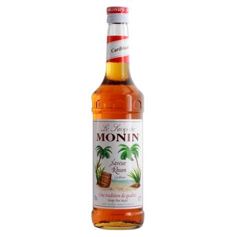 Sirop rhum 70 cl - Monin