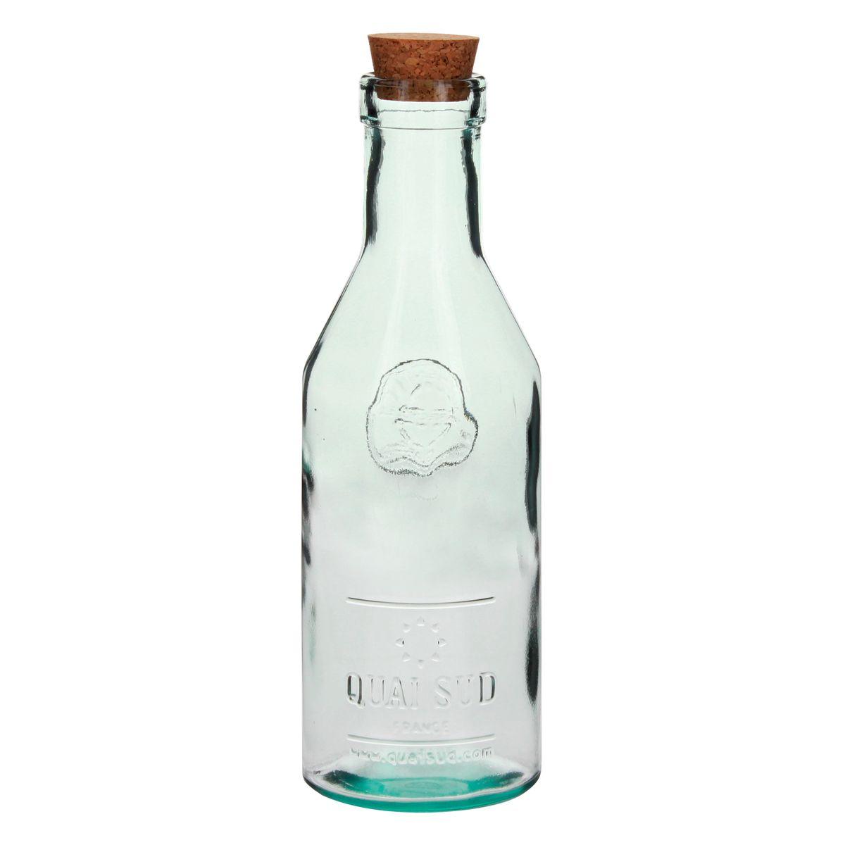 Carafe en verre recyclé 1L - Quai Sud
