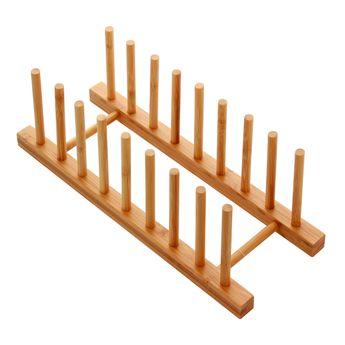 Rangement vaisselle en bambou - Zeller